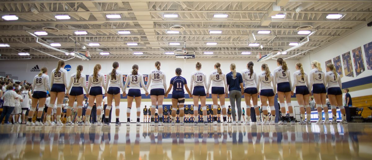 Bethel University Royals Women S Volleyball Overnight Camp