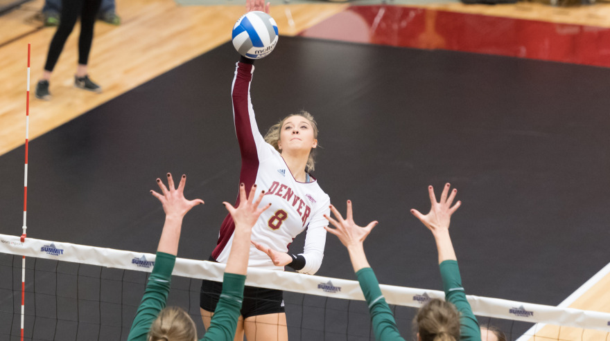 University of Denver Women's Volleyball Pioneers Positions ...