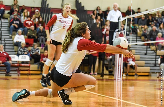 Indiana University Women's Volleyball Elite Position Camp