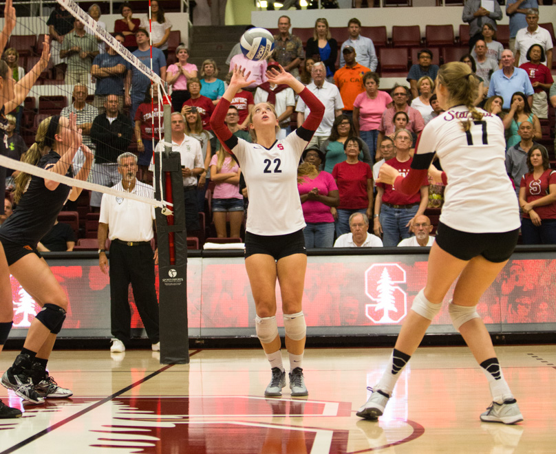 Stanford University Women S Volleyball Advanced Skills Overnight Camp